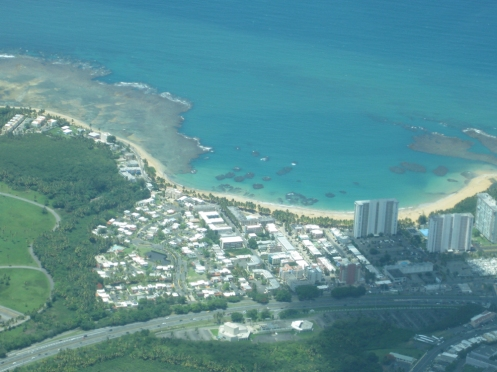 East side of Puerto Rico.